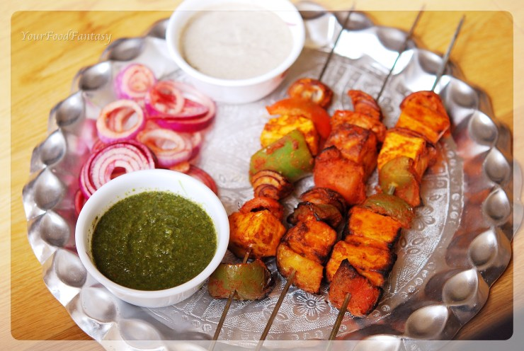 Paneer tikka| Indian food | yourfoodfantasy.com by meenu gupta