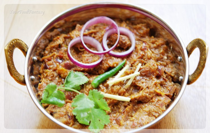 baingan bharta at yourfoodfantasy.com