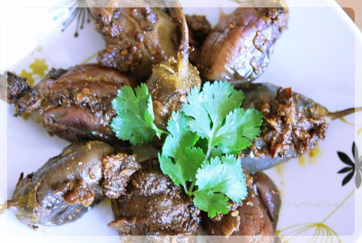 bharwa baingan recipe| yourfoodfantasy.com
