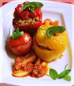 Greek Food - Gemista Recipe