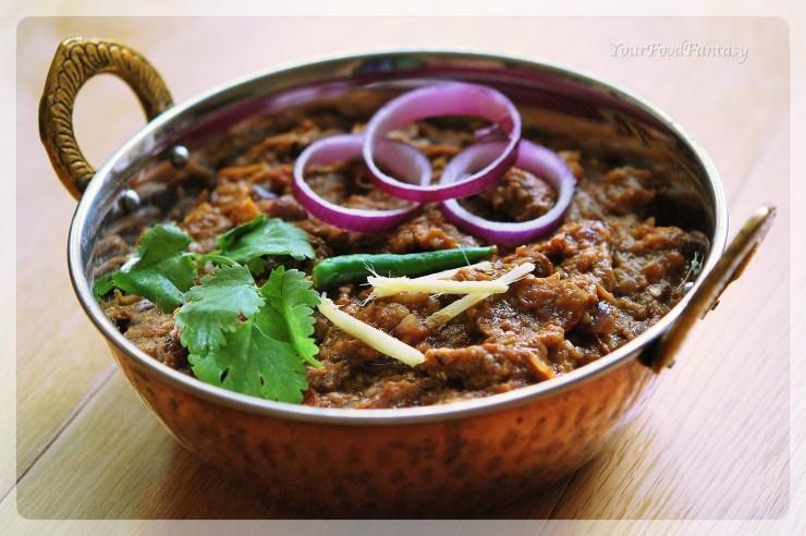 tasty baingan bharta | yourfoodfantasy