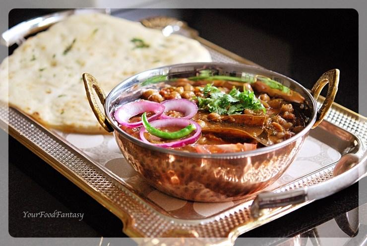 Chana Masala - Chole -Chickpea curry recipe | Your Food Fantasy