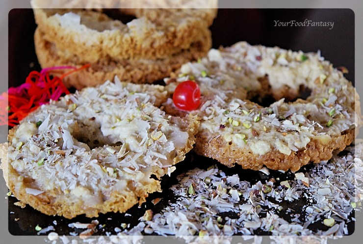 Ghevar Recipe | YourFoodFantasy.com by Meenu Gupta