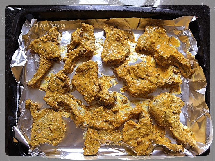 Making Lamb Chops in Oven   YourFoodFantasy.com