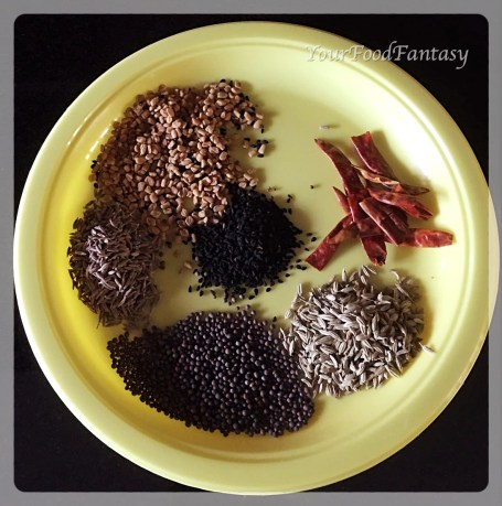 Spices for Achari Gosht | YourFoodFantasy.com