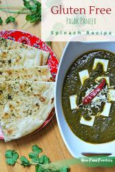 Gluten Free Palak Paneer Recipe | Your Food Fantasy