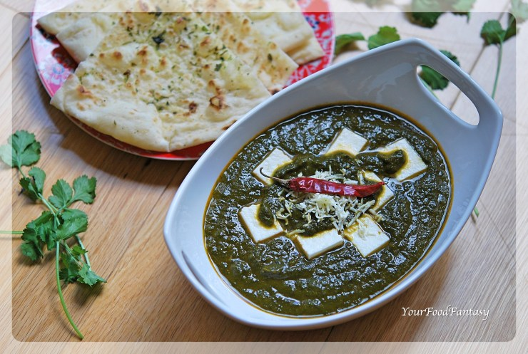 Palak Paneer Recipe | Your Food Fantasy