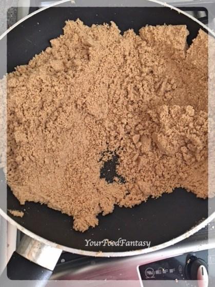 Roasted Flour | Wheat Flour Ladoo Recipe | YourFoodFantasy.com