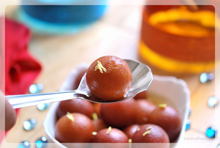 Home made tasty Gulab Jamuns | YourFoodFantasy.com