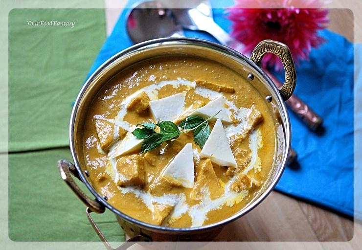 Shahi Paneer | Paneer Recipe | YourFoodFantasy.com by Meenu Gupta