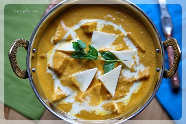 Shahi Paneer - How to make Restaurant style