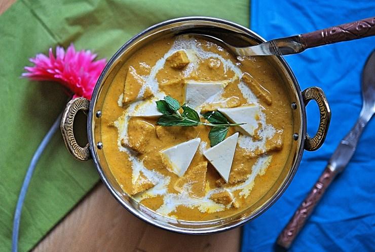 Shahi paneer recipe, how to make restaurant style shahi paneer