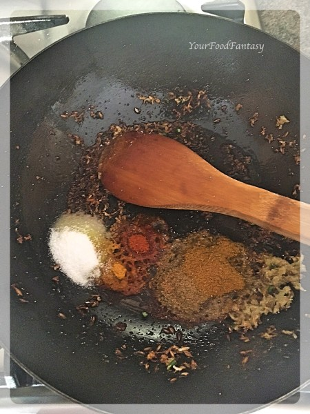 Frying Spices | Paneer Patties | YourFoodFantasy.com