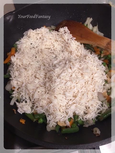 Veg Pulao Recipe | Your Food Fantasy
