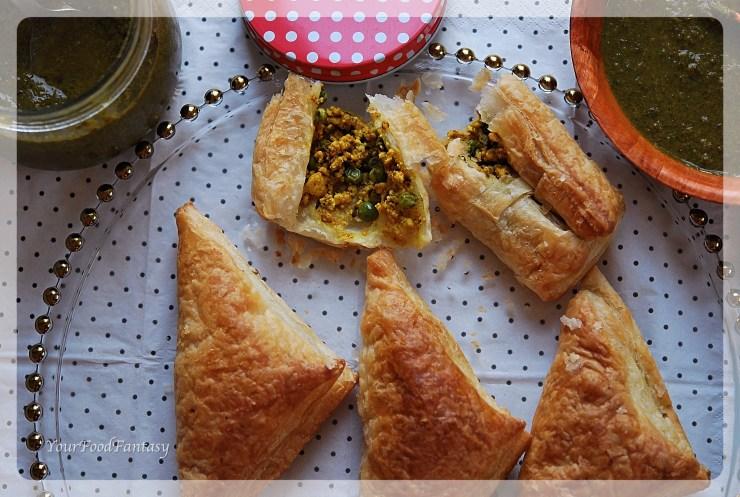 Paneer Puff Recipe | Your Food Fantasy by Meenu Gupta