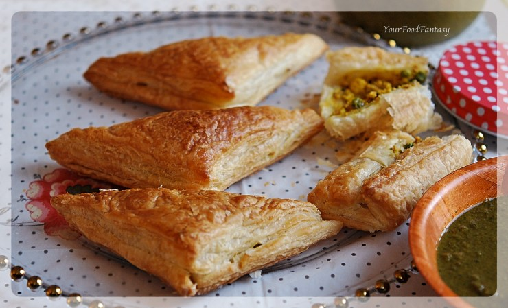 Paneer Pastry Recipe | Your Food Fantasy by Meenu Gupta