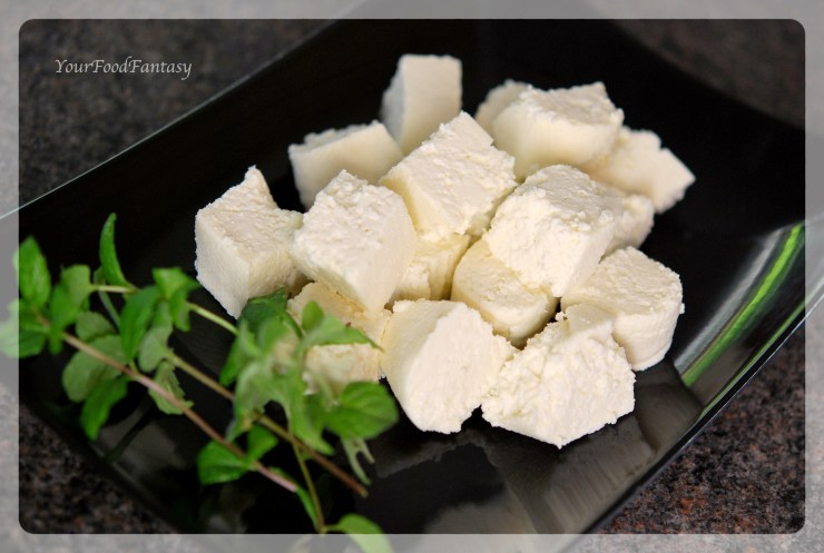 how to make soya paneer at home