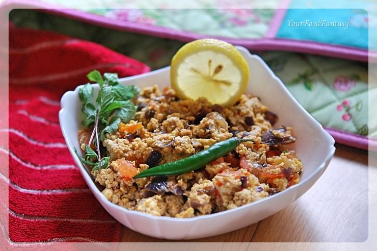 Dhaba Style Paneer Bhurji | How to make Paneer Bhurji at home
