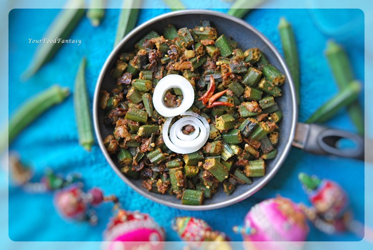 Punjabi Style Bhindi Masala | Your Food Fantasy by Meenu Gupta
