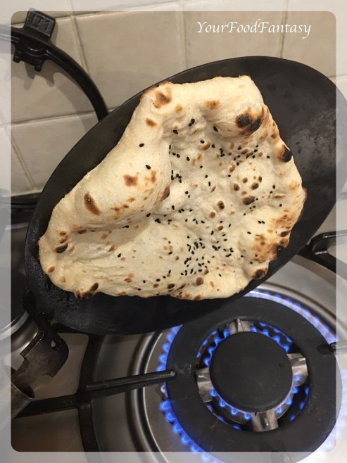 HomemadeTawa Butter Naan Recipe | Your Food Fantasy