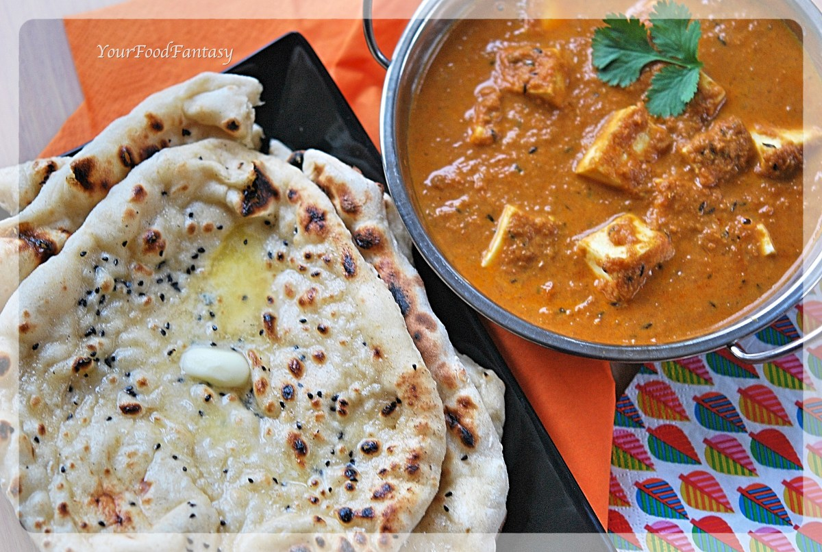 Butter Naan - Indian Bread