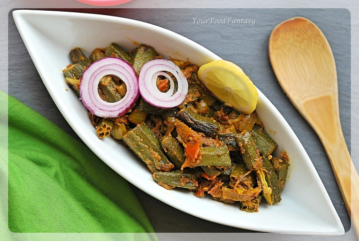 Bhindi Ke Sabji | Bhindi Do Pyaza | YourFoodFantasy.com