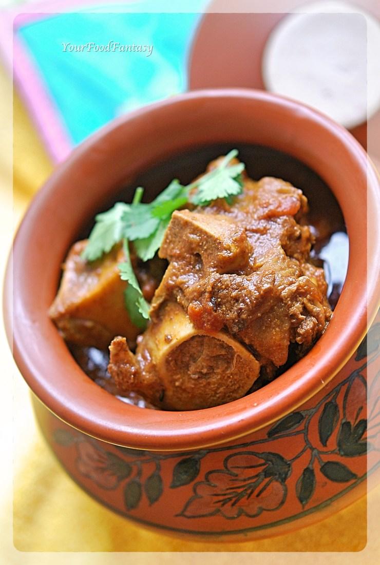 Handi Gosht Recipe | Meat Stew | YourFoodFantasy.com