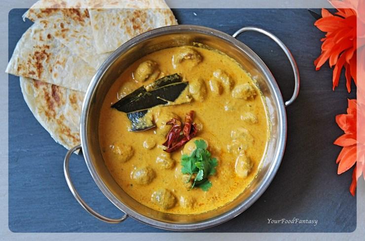 Mushroom Tikka Masala | Mushroom Curry | Indian Curry