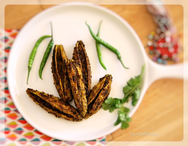 Bharwa Karela | Stuffed Karela | Your Food Fantasy