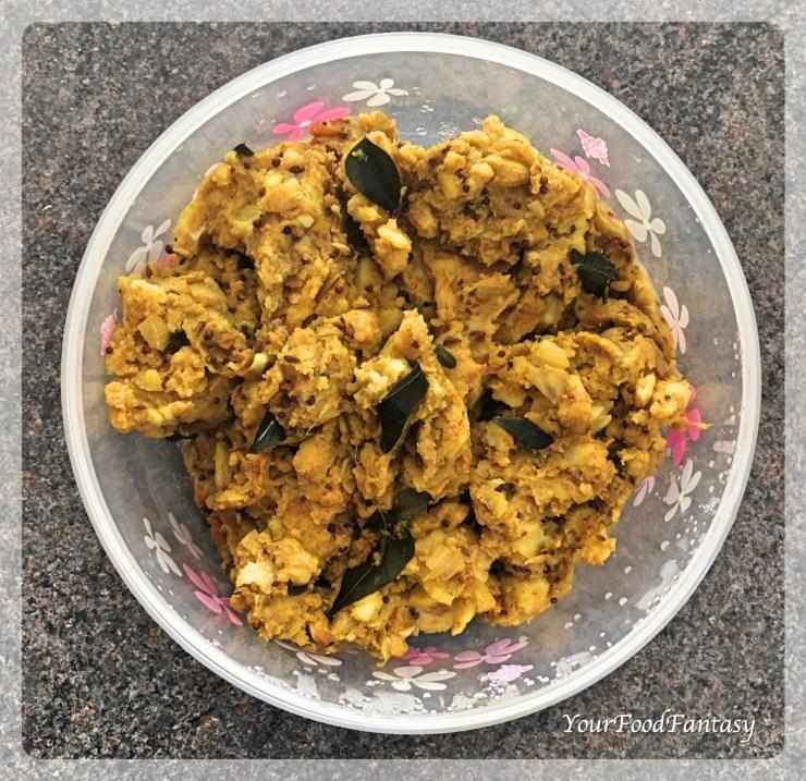Filling for Vada Pav | Your Food Fantasy