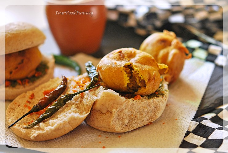 How to make Vada Pav | Your Food Fantasy