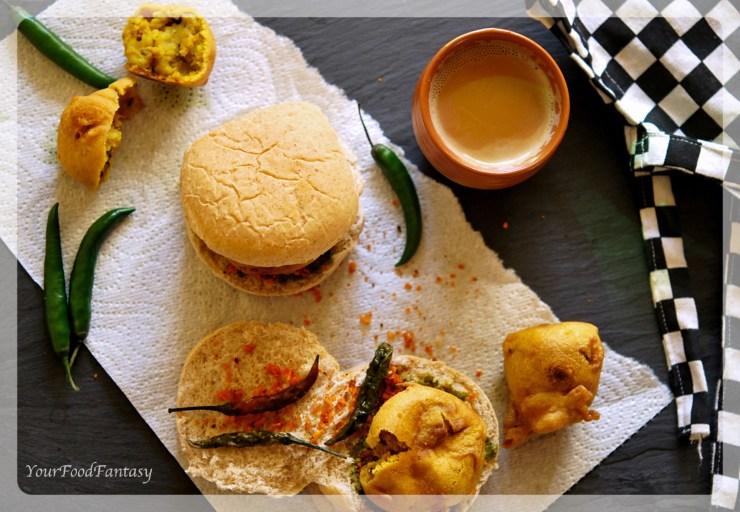 Mumbai Style Vada Pav Recipe | Your Food Fantasy by Meenu Gupta