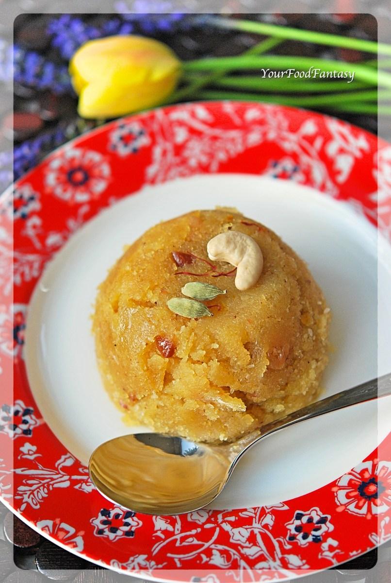Sooji Halwa / Semolina Pudding