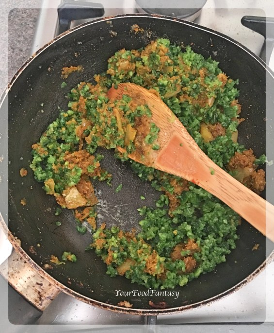 Stuffing for Stuffed Karela | YourFoodFantasy.com