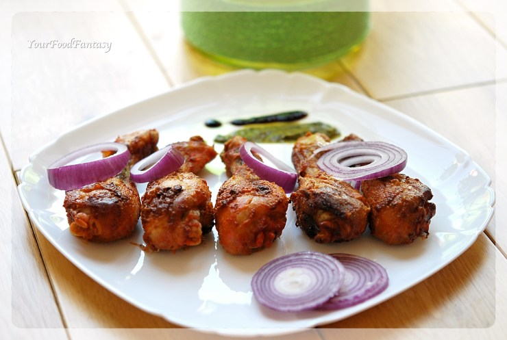 Indian Style Tandoori Chicken Oven Recipe | YourFoodFantasy.com