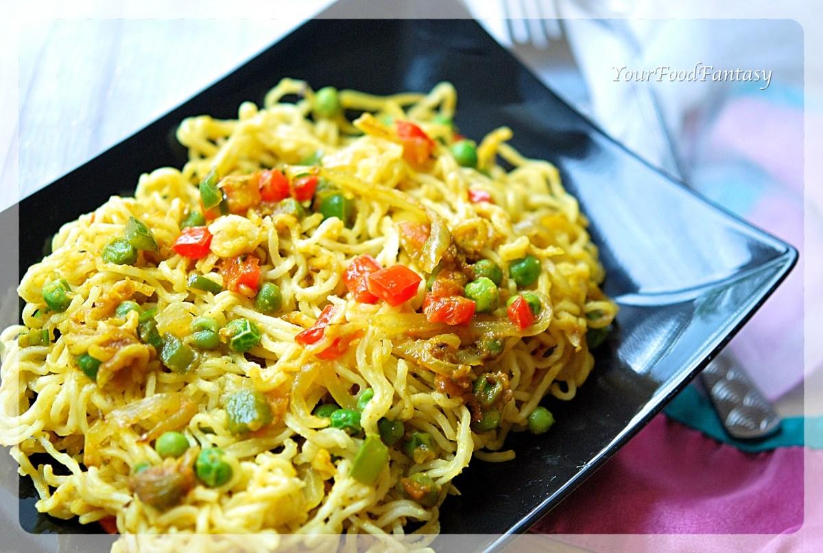 Maggi Noodle Recipe