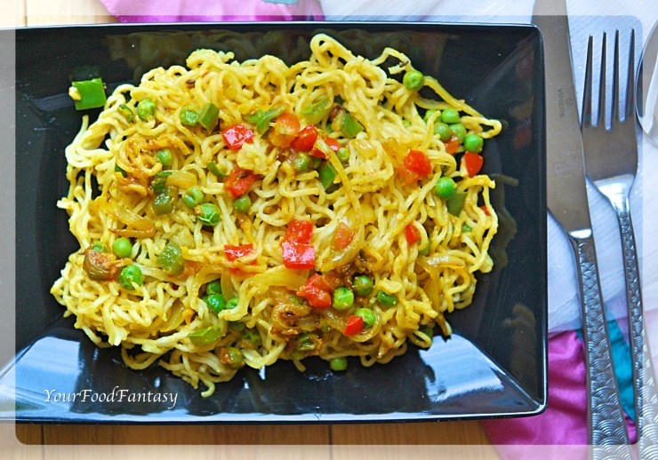Maggi Noodles Recipe - Your Food Fantasy by Meenu Gupta