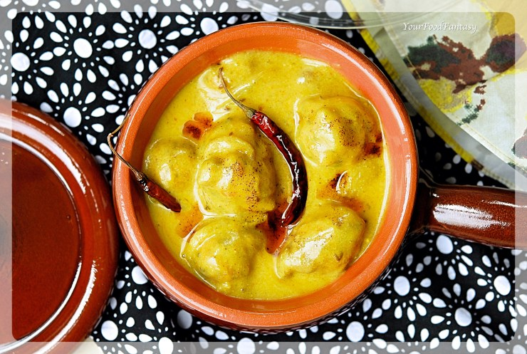 Punjabi Kadhi Recipe | YourFoodFantasy.com by Meenu Gupta