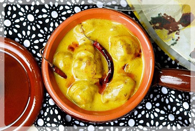 Punjabi Kadhi Recipe   YourFoodFantasy.com by Meenu Gupta