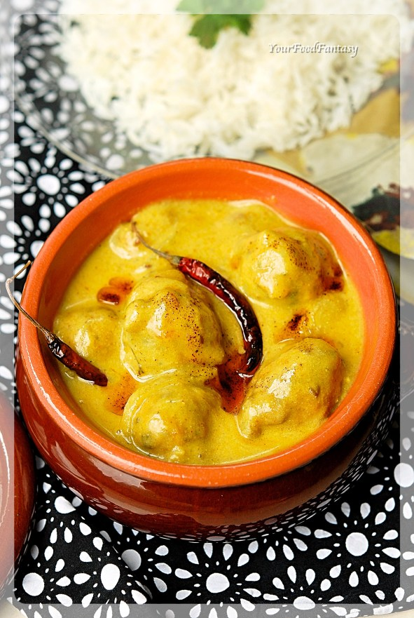 Punjabi Kadhi step by step recipe   YourFoodFantasy.com