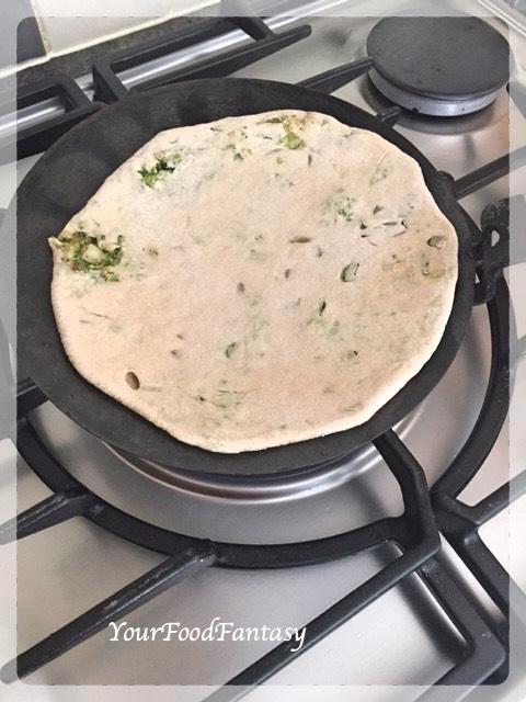 Cooking Broccoli Paratha | Your Food Fantasy