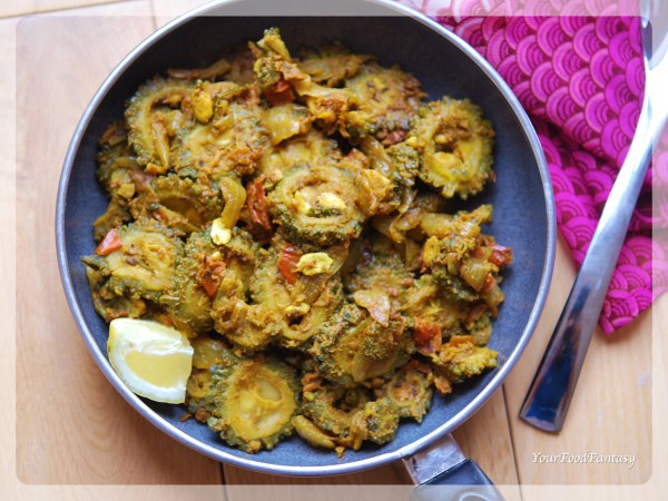 Karela Masala Sabzi step by step recipe | YourFoodFantasy.com
