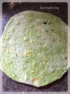 Rolled Raw Palak Paneer Paratha | Your Food Fantasy by Meenu Gupta