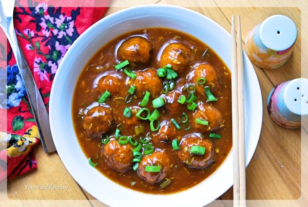 Veg Manchurian Recipe | Your Food Fantasy
