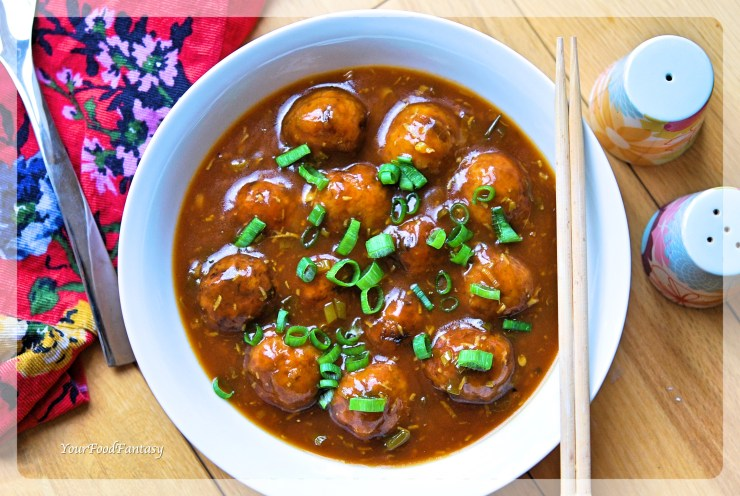 Veg Manchurian Recipe | Your Food Fantasy