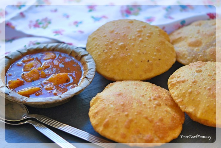 Bedmi Puri Recipe | Your Food Fantasy