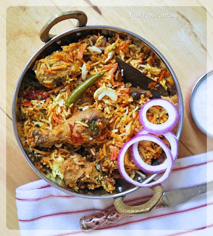 Chicken Dum Biryani Recipe | Your Food Fantasy by Meenu Gupta