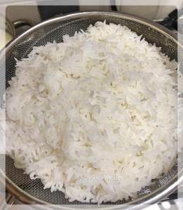 Boiled Rice for Egg Fried Rice | Your Food Fantasy