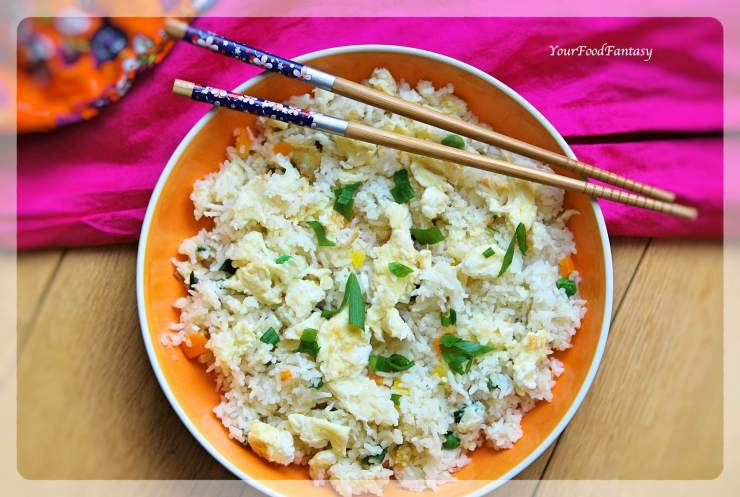 Egg Fried Rice Recipe | YourFoodFantasy.com By Meenu Gupta