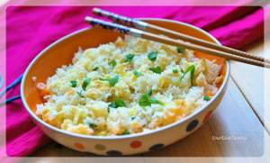 Egg Fried Rice Recipe | YourFoodFantasy.com
